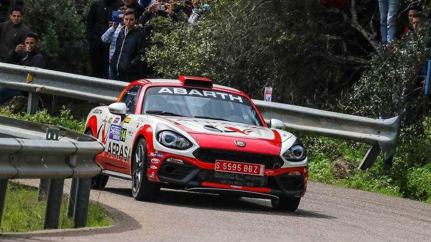 Así afronta el equipo Abarth el último rally de la temporada