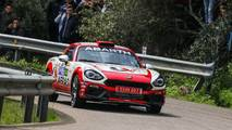 Abarth 124 Spider rally car