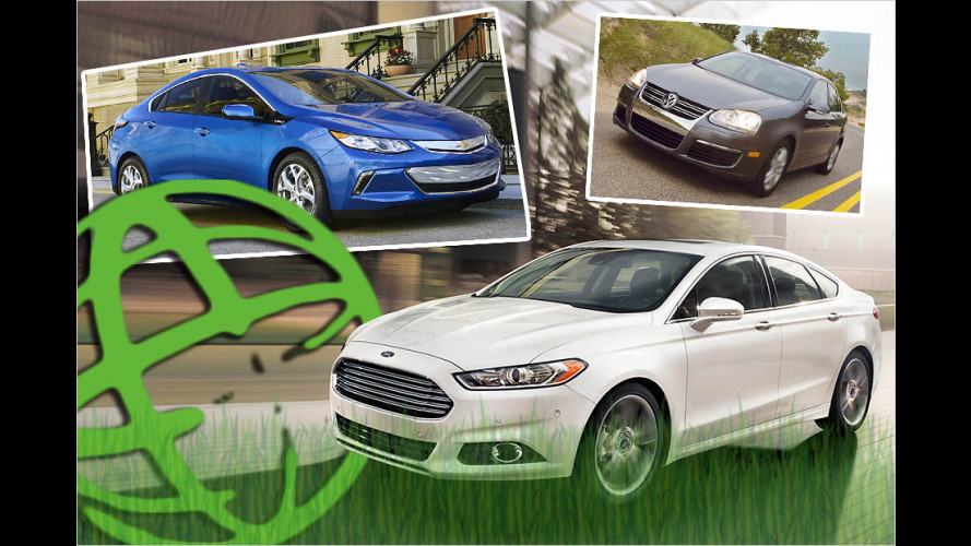 Die Green Cars of the Year 2006 bis 2018