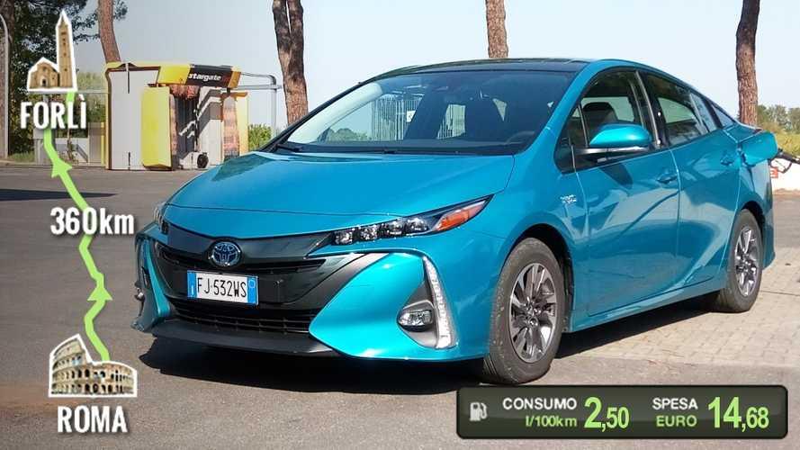 Toyota Prius Plug-in, la prova dei consumi reali
