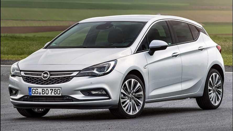 Nuova Opel Astra BiTurbo CDTI, la 5 porte da 160 CV