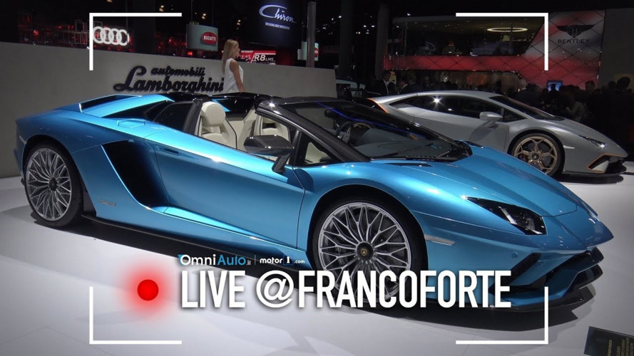 Lamborghini Aventador S Roadster, il toro en plein air [VIDEO]