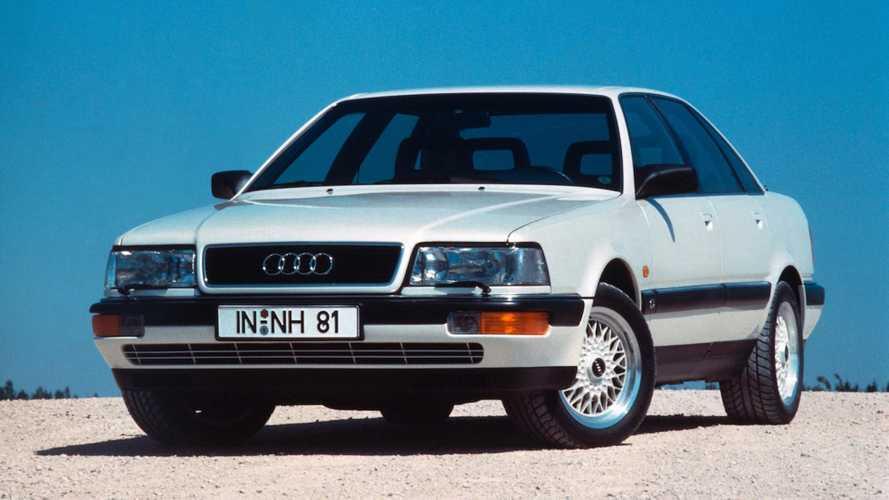 Audi, dalla V8 alla A8, quasi trent'anni di lusso e hi-tech