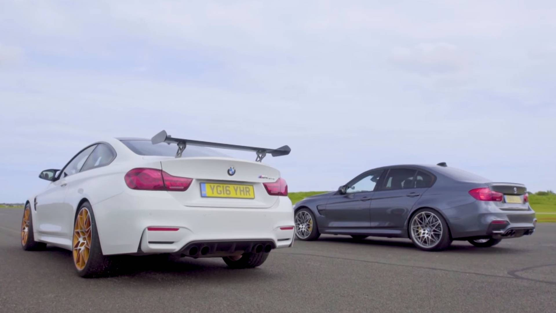 M4 Competition Package >> Family Duel Bmw M3 Competition Pack Drag Races Bmw M4 Gts
