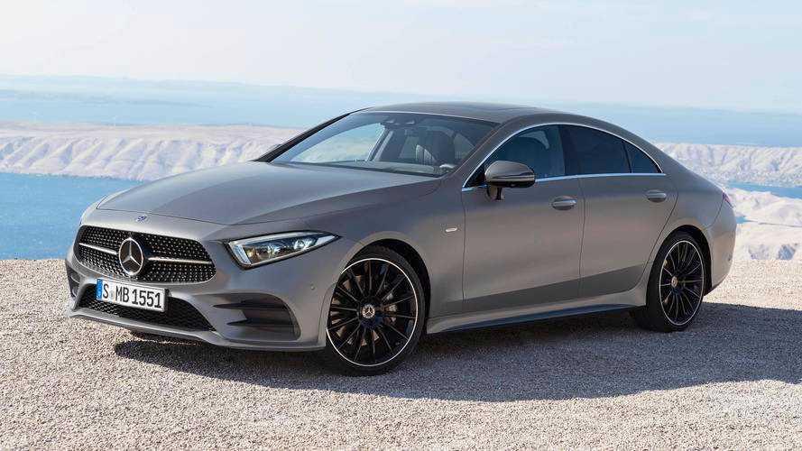 Voici les prix de la Mercedes CLS (2018)