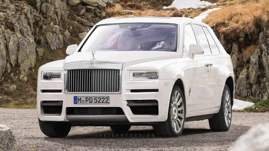 Rolls-Royce Cullinan Spy Photo Evolves Into A Speculative Render