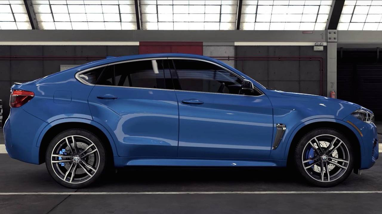 BMW X6 M Forza 7