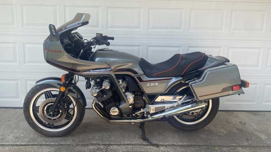 Add This 1981 Honda CBX Super Sport To Your Collection