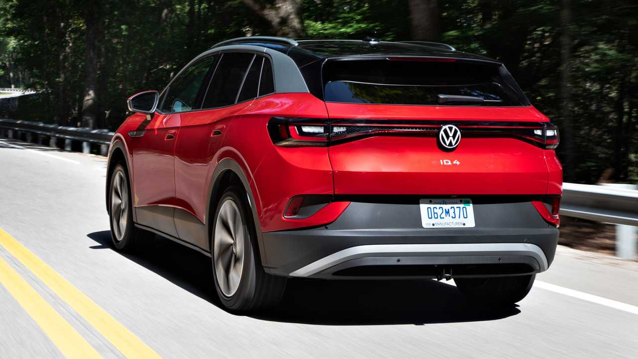 2021 Volkswagen ID.4 AWD exterior dynamic