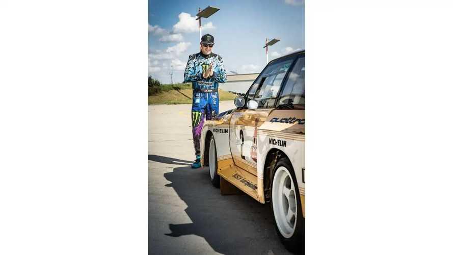 Ken Block Partnership With Audi