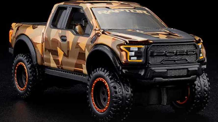 Hot Wheels Is About To Drop A Ford Raptor 2021 HWC Special Edition