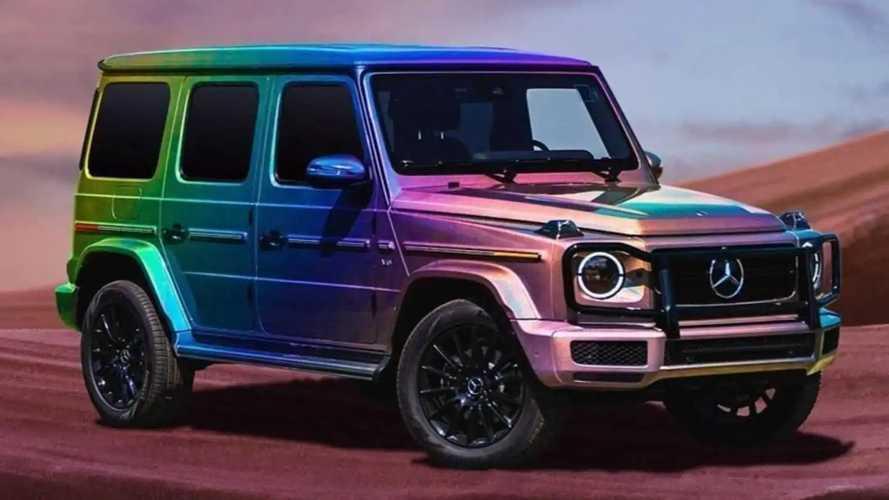Mercedes celebrates LGBTQ pride with rainbow-coloured G-Class