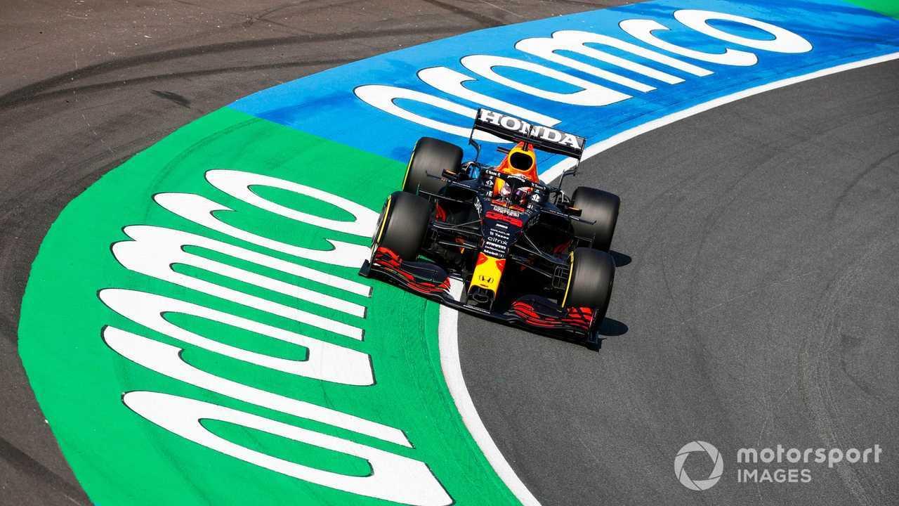 Max Verstappen at Dutch GP 2021