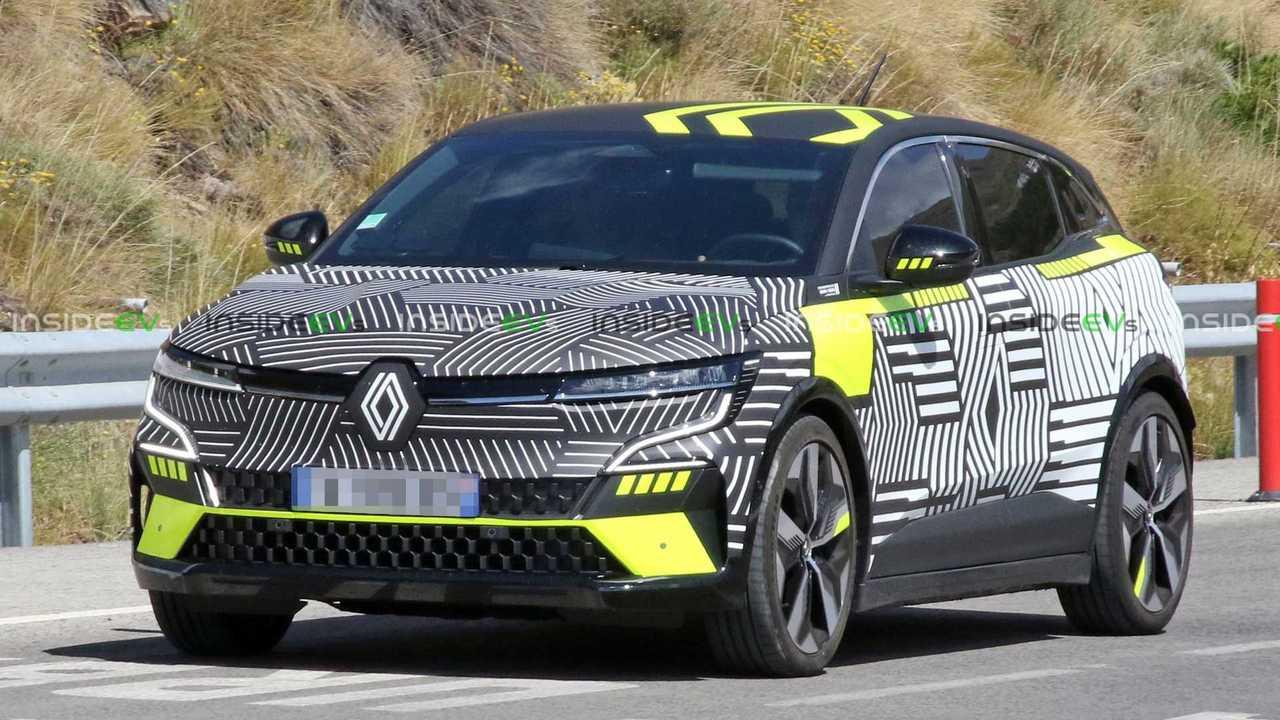 Renault Megane E-Tech Electric spy photos