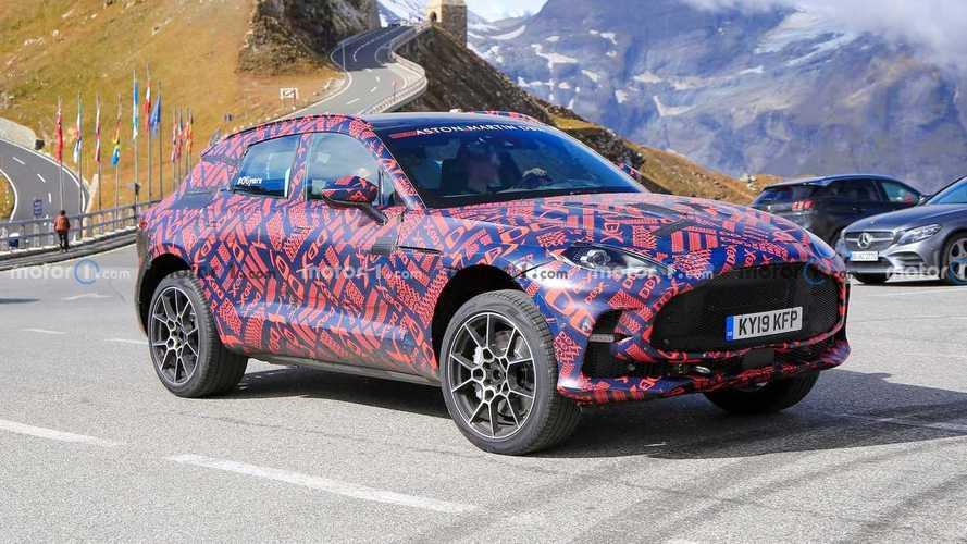 Aston Martin вывел на тесты «заряженный» кроссовер DBX