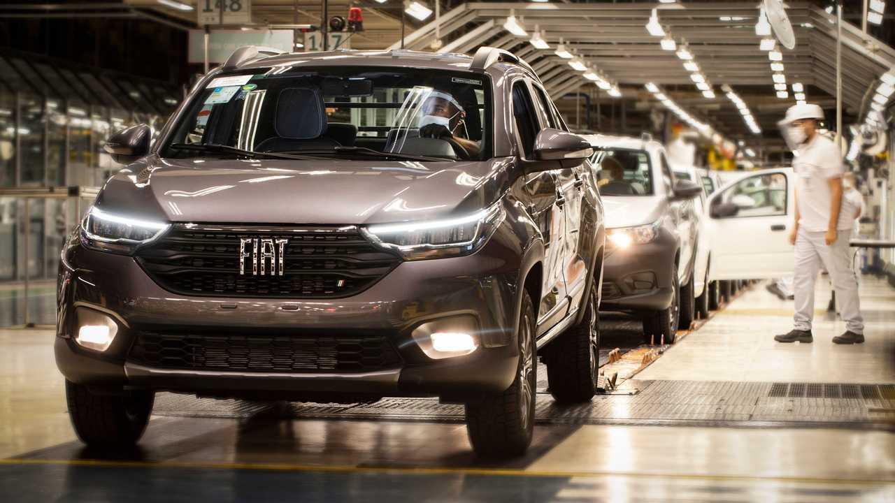 Fábrica da Fiat em Betim - MG