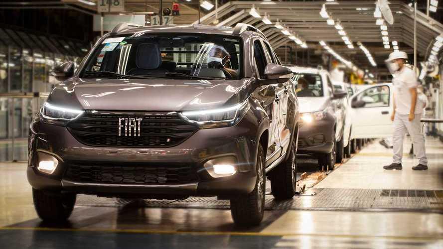 Fiat suspende parte da produção em Betim por falta de chips
