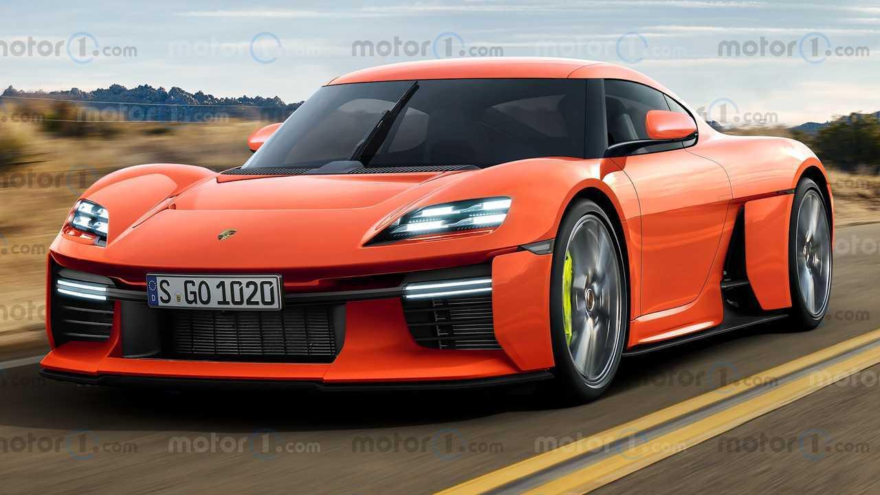 Рендеринги производства Porsche Миссия R