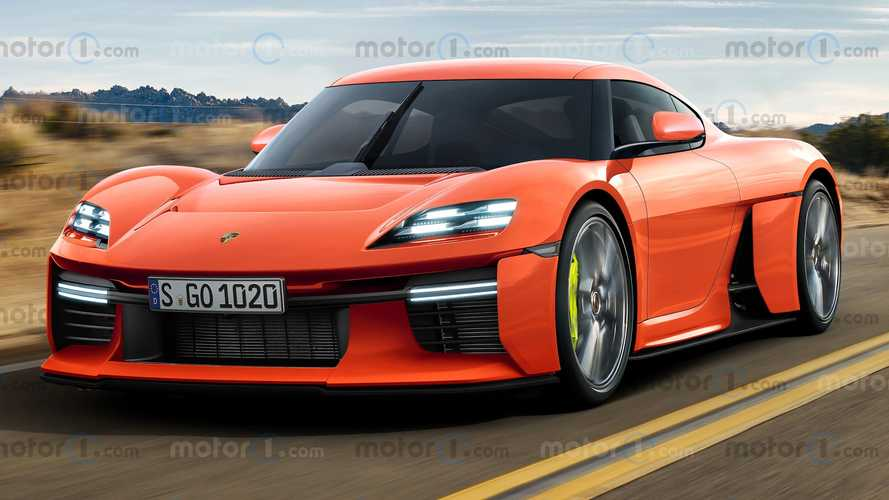 Porsche Mission R Gets Production Redesign In Unofficial Rendering