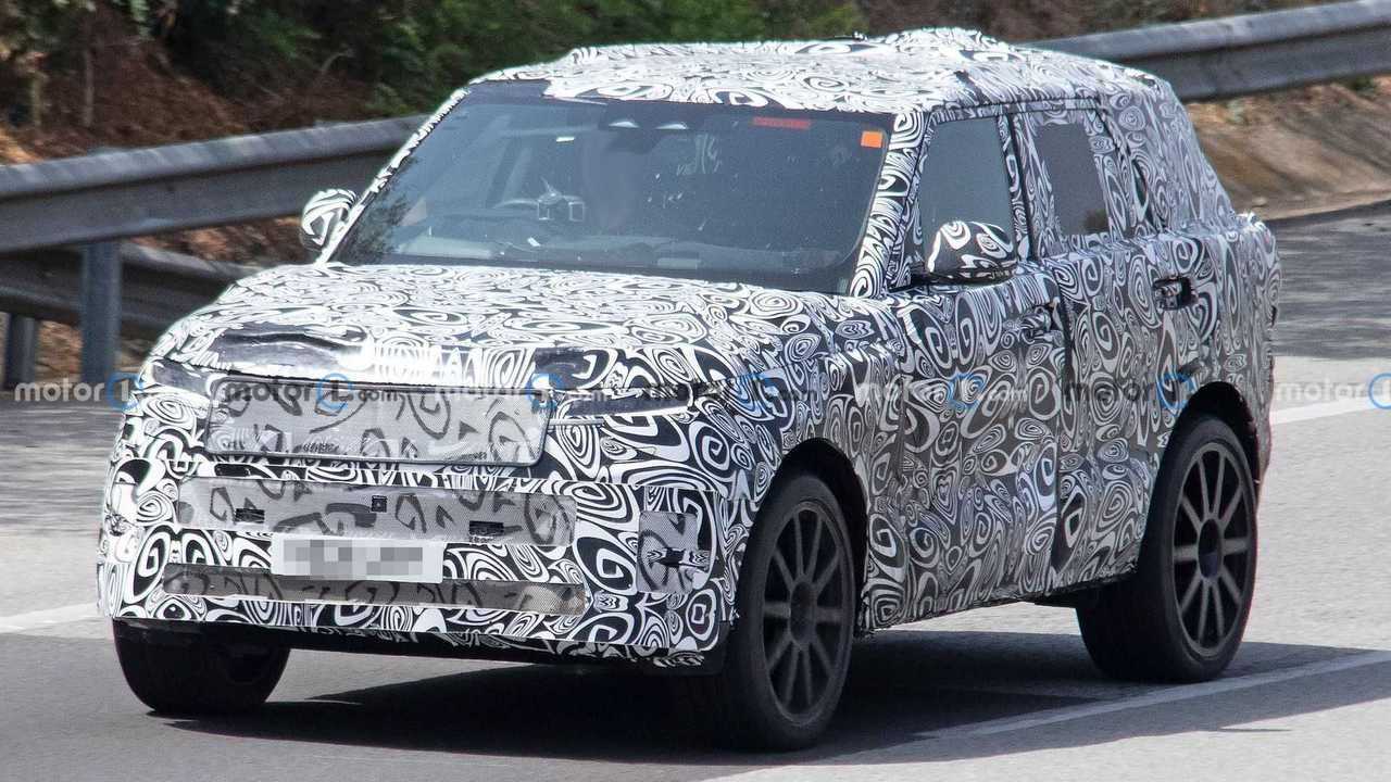 Fotos espía del Range Rover Sport SVR