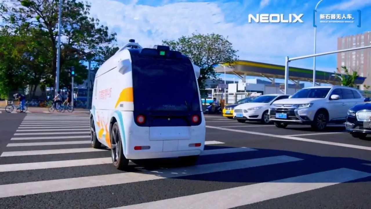 Un robot Neolix