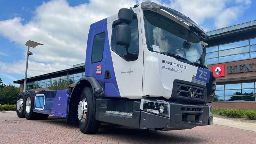 Renault Trucks lancia D Wide Z.E. a cabina ribassata