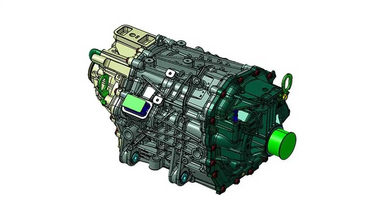 Lo sketch del motore elettrico che Ford offre per il retrofit a zero emissioni