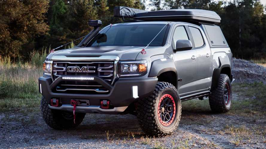 GMC Canyon AT4 OVRLANDX Off-Road Concept Debuts With Adventure-Ready Upgrades