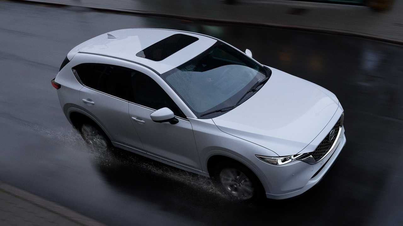 All 2022 Mazda CX models getting standard AWD