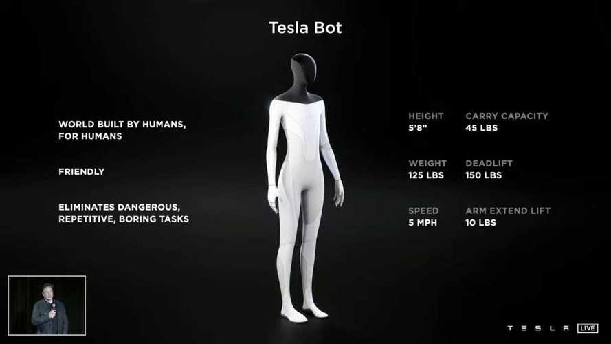 Tesla Bot, arriva il robot senziente di Elon Musk