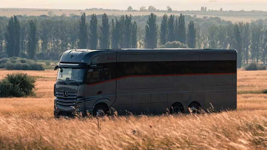 "Dembell Luxury Motorhome: ""Lo Yatch di terra"""
