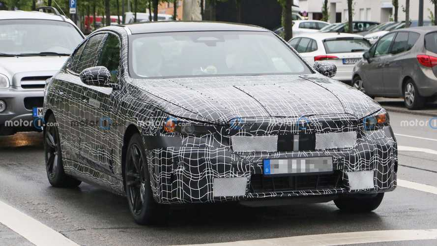 New BMW 5 Series spied again