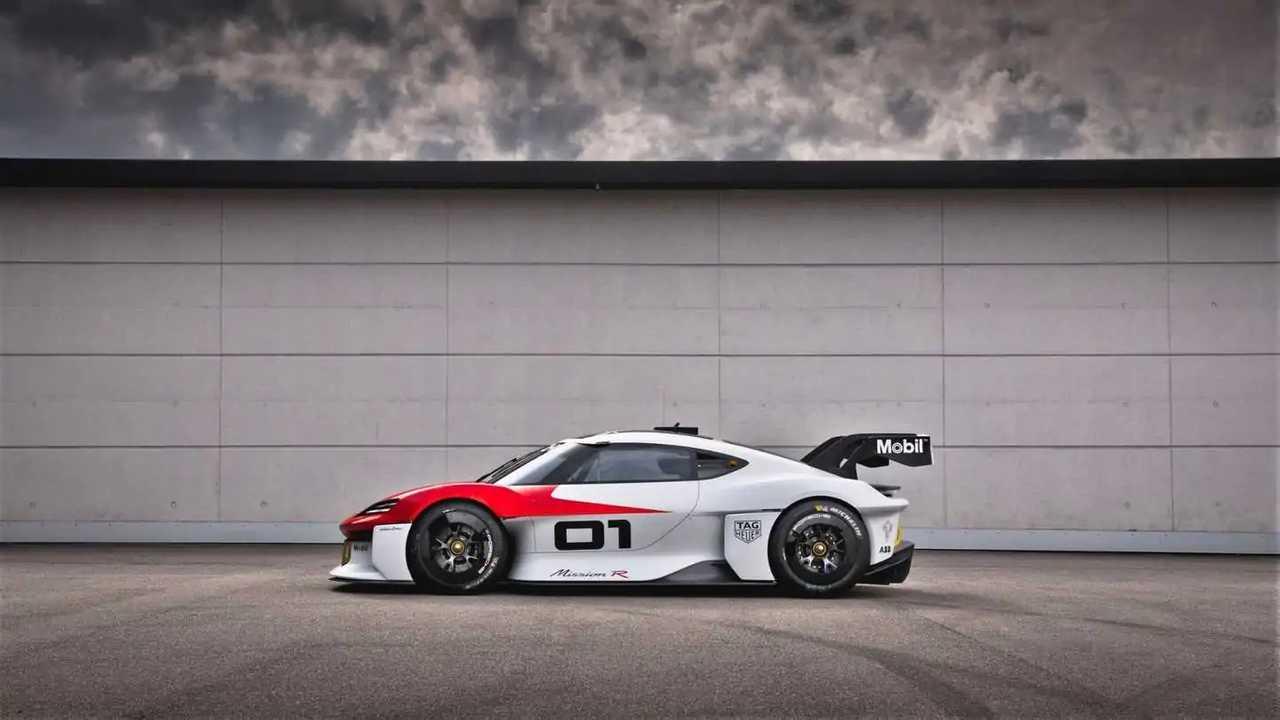 Konsep Porsche Mission R