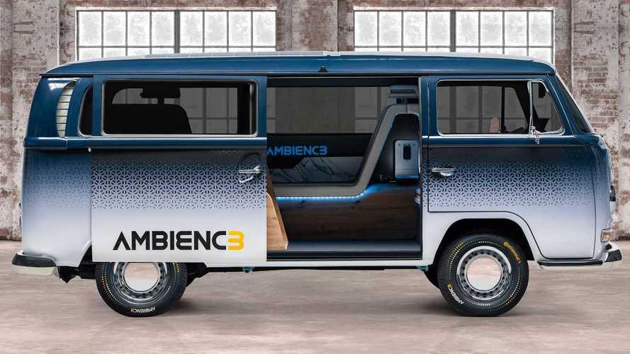 ¿Te interesaría una VW T2 camper con un interior futurista?