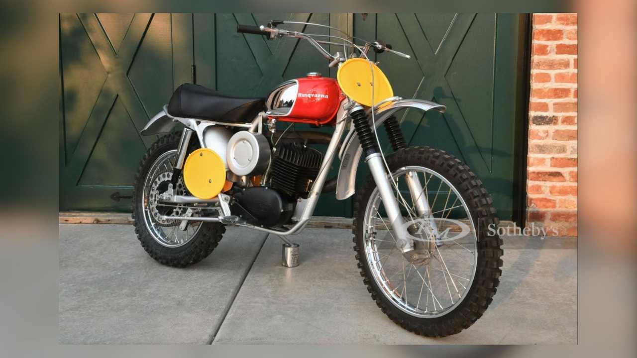 1968 Husqvarna Viking 360 - Right Side Front Angle View