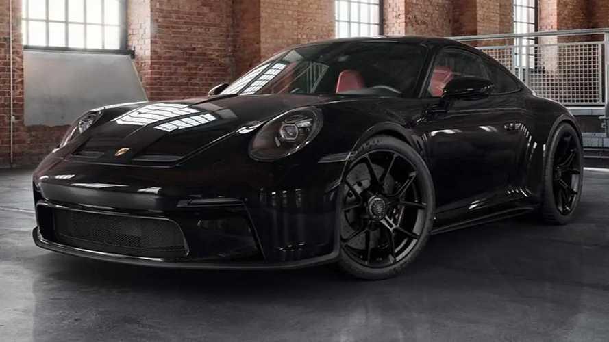 Porsche Exclusive Manufaktur blacks out 911 GT3 Touring, and it's great