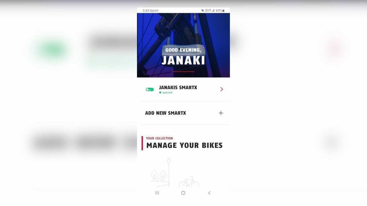 ABUS Granit Detecto SmartX Lock - App Screenshot