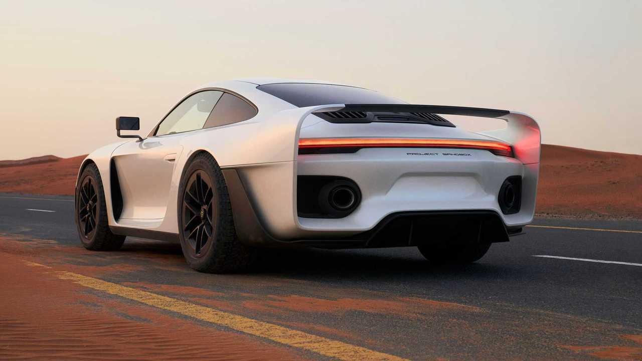 Das ist der neue Marc Philipp Gembala Marsien auf Basis des Porsche 911 Turbo S