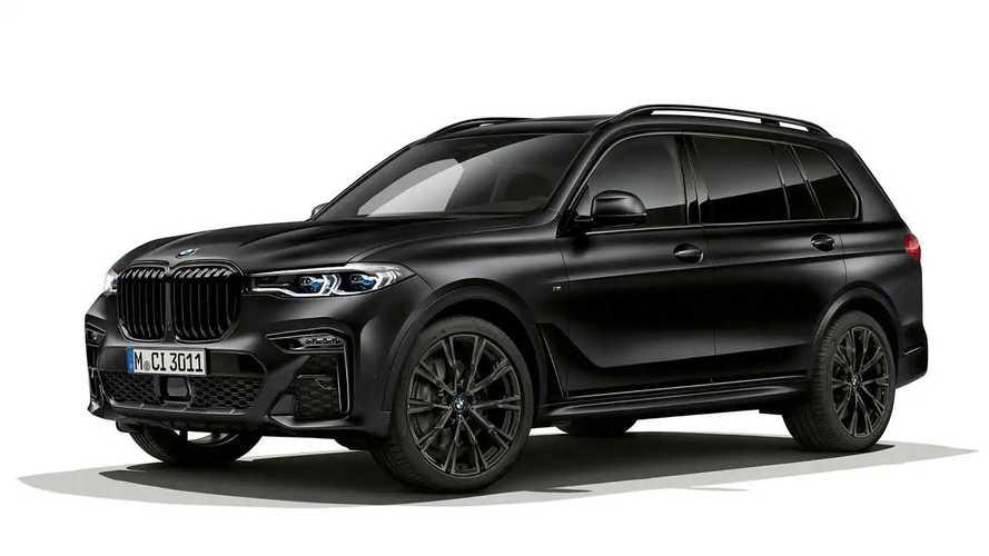 BMW X7 Edition in Frozen Black metallic (2021)