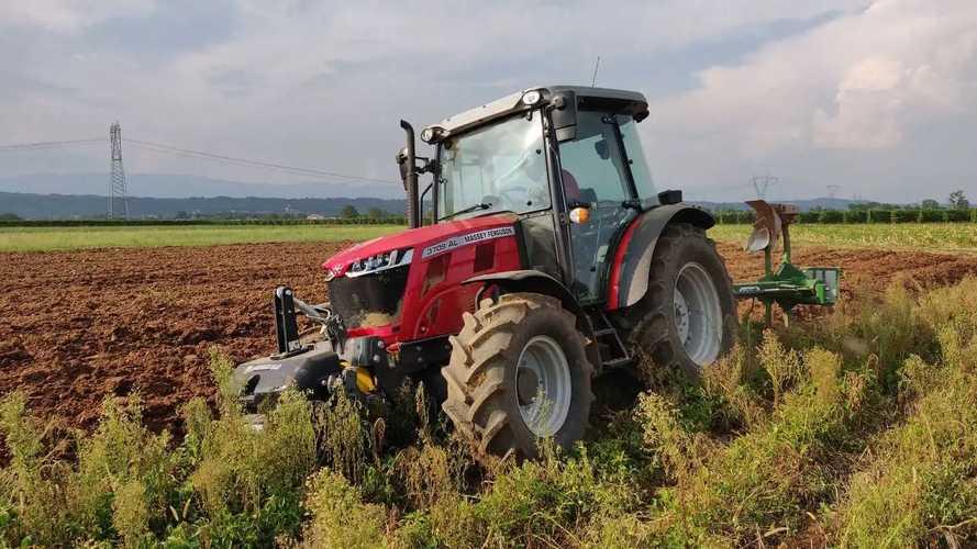 Test in Campo con il trattore Massey Ferguson 3709 AL
