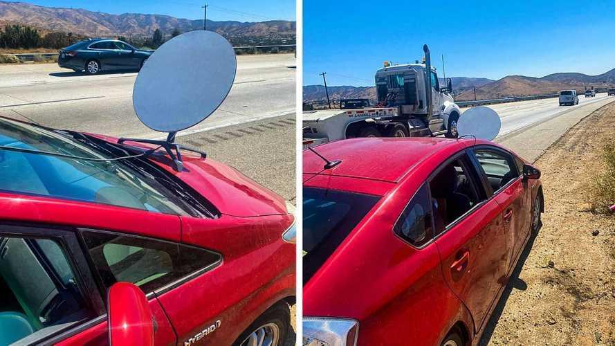 Wifi kellett az autóba, műholddal a Toyotáján furikázott egy kaliforniai férfi