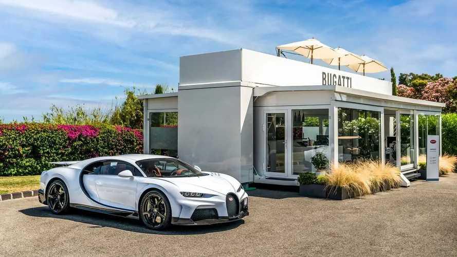 Bugatti à Saint-Tropez