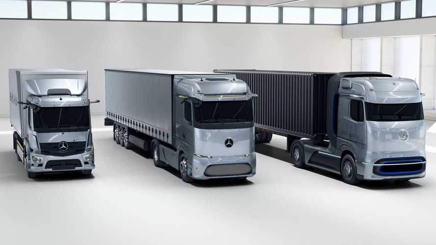 Mercedes-Benz Trucks' Largest Plant To Build All-Electric And Hydrogen Fuel-Cell Trucks