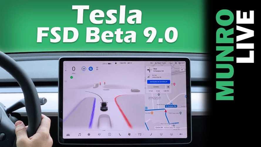 Sandy Munro Experiences Tesla FSD Beta 9 In Tesla Model Y