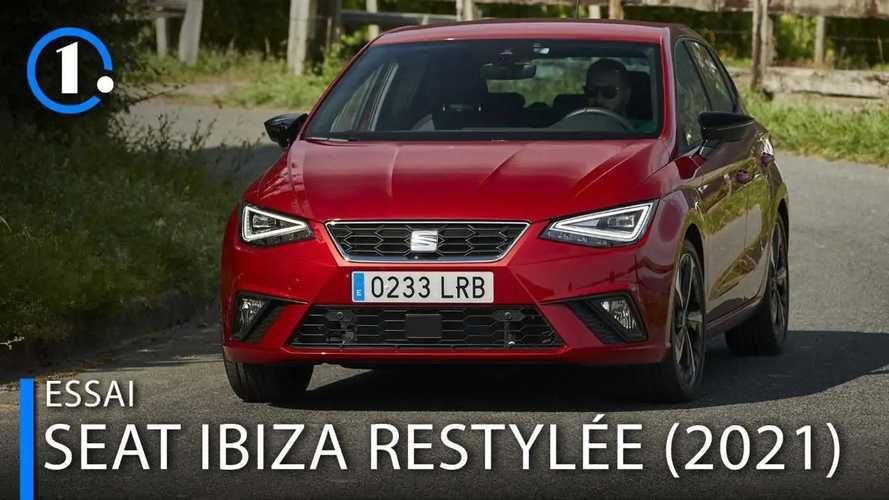 Essai Seat Ibiza restylée (2021) - Dynamique avant tout
