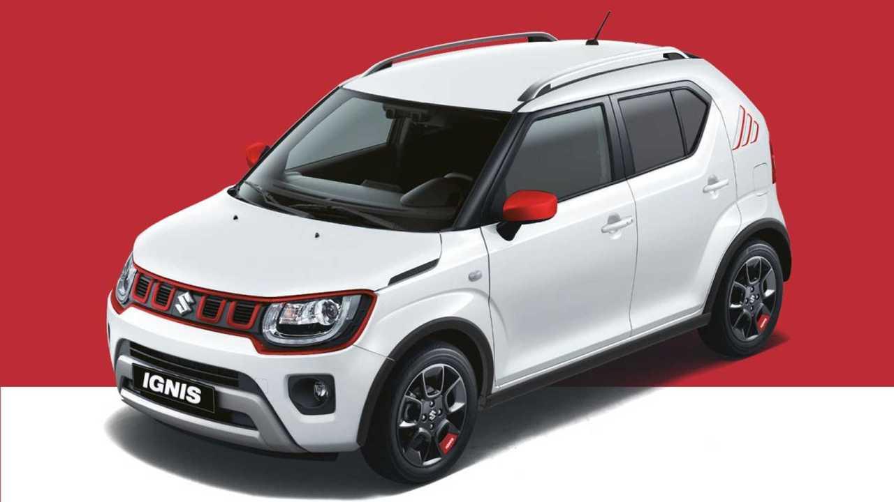 Suzuki Ignis Red & White 2021