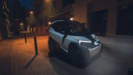 Silence S04: Winziges Elektroauto aus Spanien