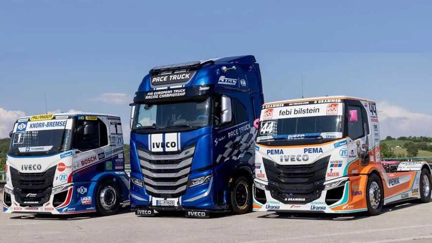 Iveco al Misano World Circuit Marco Simoncelli per il Truck Race