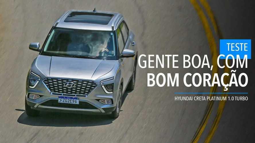 Teste Hyundai Creta Platinum 1.0 Turbo 2022