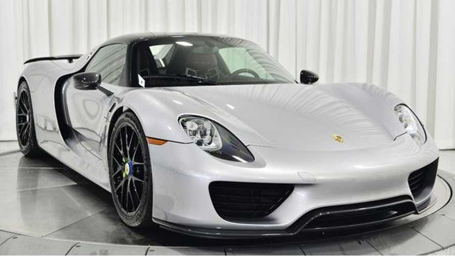 Check Out These Porsche 918 Spyders For Sale